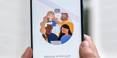 Microsoft Teams op mobiel